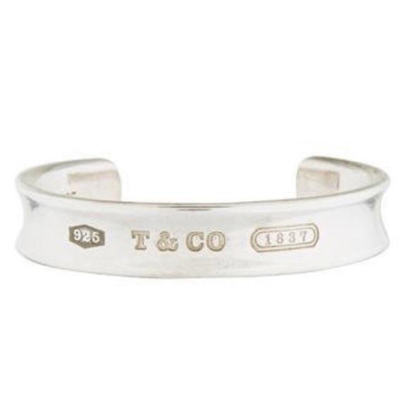6f97b595c Tiffany & Co. Jewelry | Tiffany Co 1837 Cuff Bracelet | Poshmark